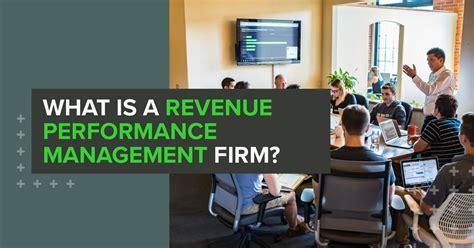 revenue performance management firm