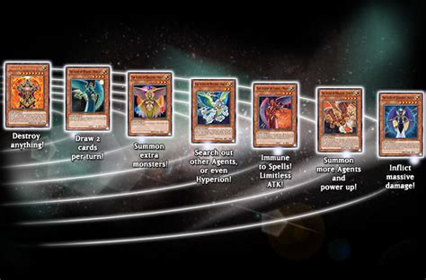 deck card cards sanctuary lost yugioh yu agents gi oh structure sky planetary sd through grandest stage there game abilities