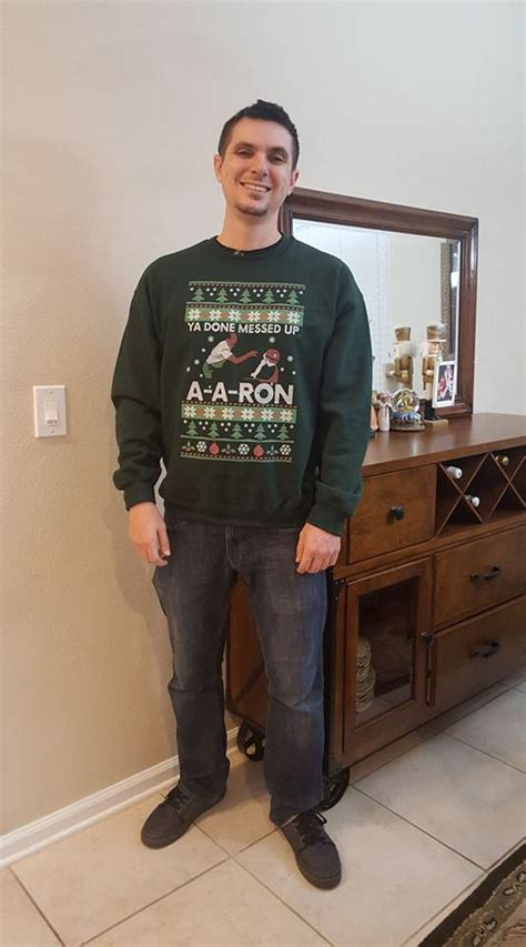 ron swanson ugly sweater ya done messed up a a sweater the wholesale t shirts