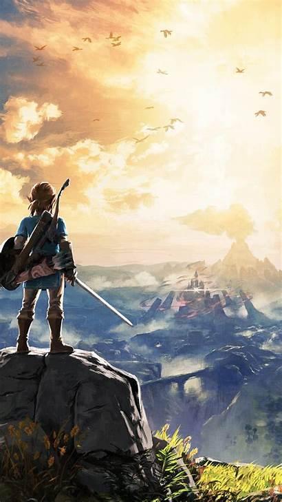 Zelda Iphone Wallpapers Backgrounds Breath Wild Legend