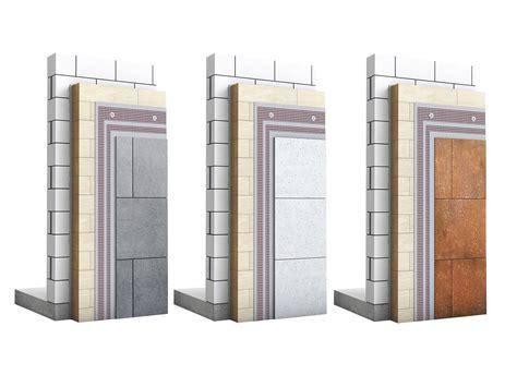 Cortenstahl Fassade Befestigung by Wdvs Mit Glas Stein Oder Metallplatten Fassade News