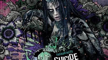 Enchantress Suicide Squad Wallpapers 4k Cara Delevingne