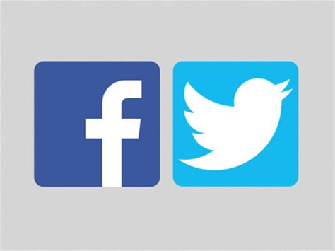 Facebook and Twitter logo Sketch freebie - Download free ...