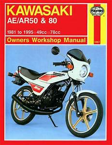 Haynes Manual - Kawasaki Ae50  Ar50 And Ae80  Ar80