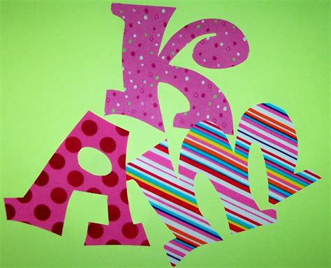 Fabric Applique Letters by Fabric Applique Patterns Only Whimsy Font Alphabet Letters