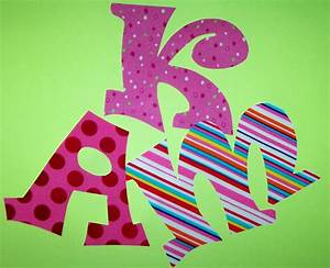 fabric applique patterns only whimsy font alphabet letters With applique letters