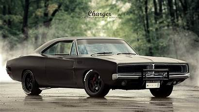 Charger Dodge 1969 Artstation Classic Muscle Cars