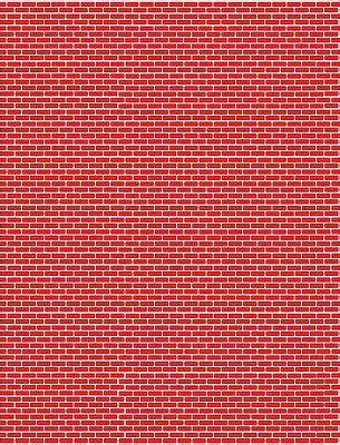 scale garage diorama workshop red brick wall vertical