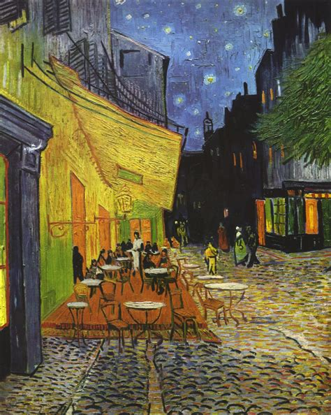 gogh cafe terrace at looking for leonardo in gogh s quot cafe terrace at quot