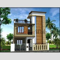 Traditional House Elevation, Indian Traditional House