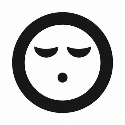 Emojis Tired Exhausted Whistle Emoticon Icon Sleeping