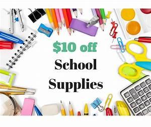 Walmart   10 Off  30 School Supplies    Southern Savers