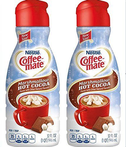 Pagesotherbrandproduct/servicelavazza thailand official pagevideosmarshmallow coffee creamer. COFFEEMATE Marshmallow Hot Cocoa Liquid Coffee Creamer 32 ...