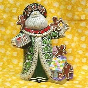 1000 images about Ceramic bisque Santas on Pinterest