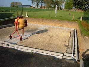 Temps De Sechage Dalle Beton : faire une dalle bton beautiful dalle de jardin beton ~ Premium-room.com Idées de Décoration