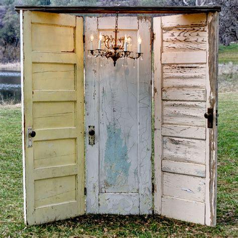 Old Door Wedding Decorwindows And Shutters Too On