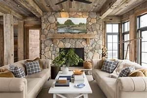 Maison Americaine Interieur : superbe maison de campagne illinois au design int rieur ~ Zukunftsfamilie.com Idées de Décoration