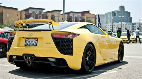 Yellow car Lexus LFA wallpapers and images - wallpapers ...