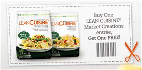 lean cuisine coupons b1g1 lean cuisine market creations southern savers