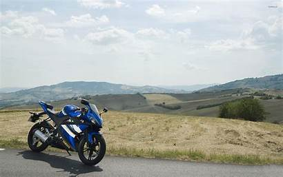 R125 Yamaha Yzf Road Side Wallpapers Motorcycle