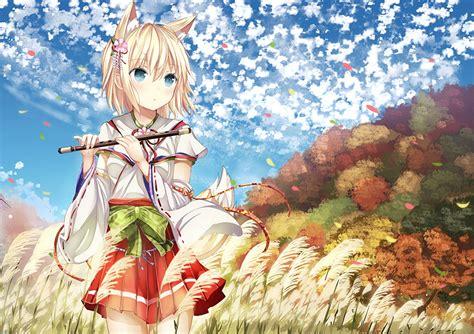 Anime Kitsune Wallpaper - photos kitsune morerin original anime