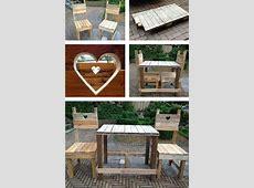 Gartenmöbel aus Paletten trendy Außenmöbel zum Selbermachen