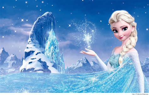 Elsa Background Winter Page 5 Thefunnyplace
