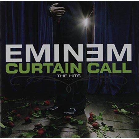 eminem curtain call the hits songs eminem curtain call the hits edited cd walmart