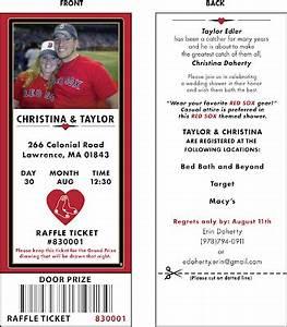 bp design red sox invitation part ii With red sox wedding invitations