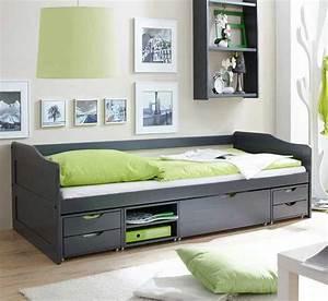 Betten 90 X 200 : betten 90x200 mit schubladen in einem holzrahmen am besten ~ Bigdaddyawards.com Haus und Dekorationen