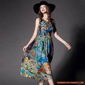 robe femme longue ete robe boheme robe de plage robe de With robe ete boheme