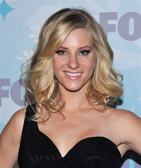 Heather Morris Medium Wavy Formal Hairstyle