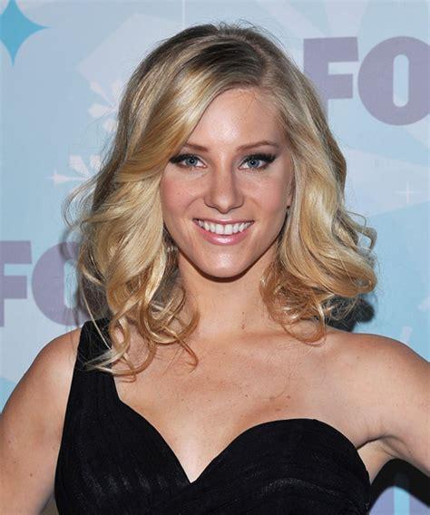 Heather Morris Medium Wavy Formal Hairstyle