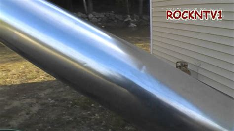 insulated stove pipe diy chimney flue youtube