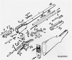 Winchester 1906  Parts Of The Gun