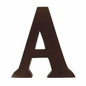 trend lab brown 6quot tall letter letter a baby product in With trend letters