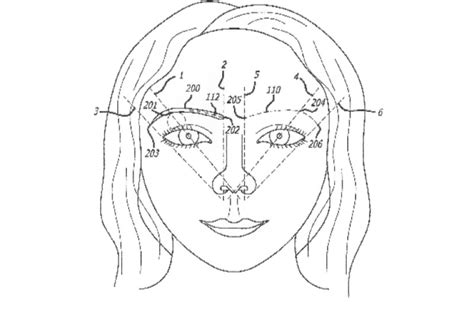 the golden ratio sketch template this patented method for eyebrow shaping uses the golden ratio
