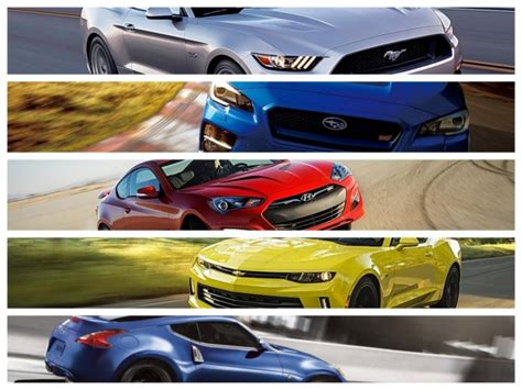 Tfl Top 5 Affordable Sports Cars For 2016