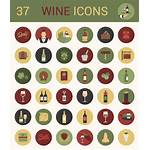 Wine Icon Icons Vector Exclusive Andysowards