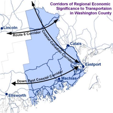 what is wccofg downeast coastal corridor update the washington county council of governments
