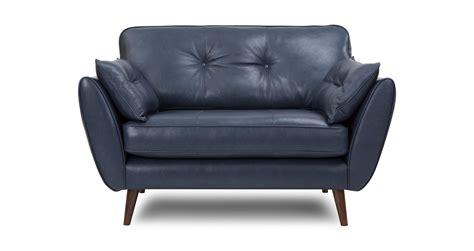 zinc leather cuddler sofa dfs ireland