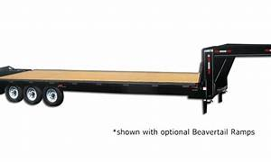 Excel Series Gooseneck Highboy Trailer 21 000 Gvw