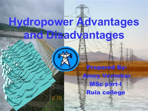 hydropower advantages  disadvantages