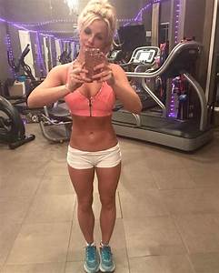 Britney Spears Instagram Workout Photos PEOPLE com