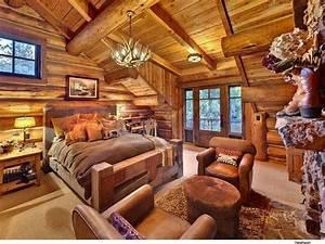 rustic, cabin, bedroom, decoration, 5, , u2013, decorathing