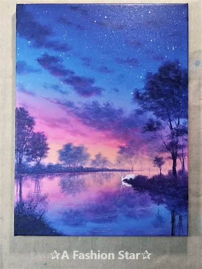 Painting Paintings Amazing Acrylic Easy Learn Canvas