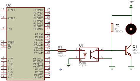 optocoupler interfacing  avr pic  microcontroller