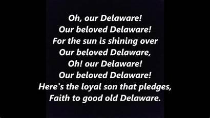 Delaware Song State Lyrics Einfon Words Usa