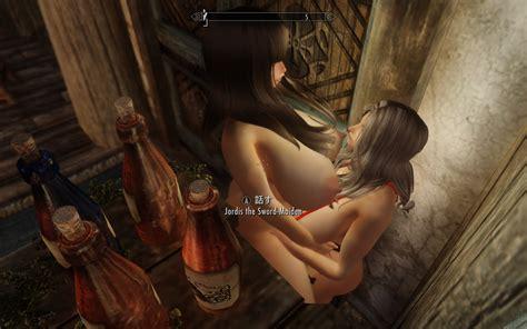 Skyrim 待機中モーション変更「sexlab Aroused Animations」を入れてみた Kの