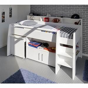 Bücherregal 90 Cm Hoch : hochbett swan 4 tlg bett schreibtisch kommode b cherregal 90 x 200 cm wei parisot mytoys ~ Bigdaddyawards.com Haus und Dekorationen